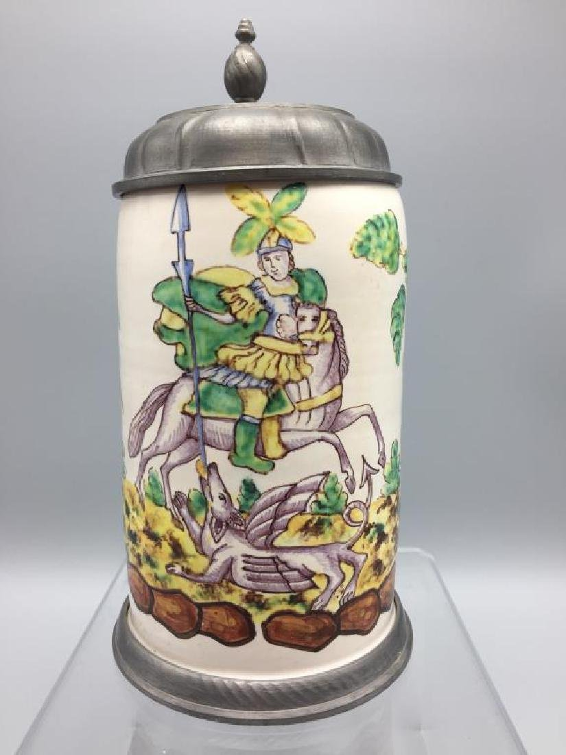 French Faience Stein