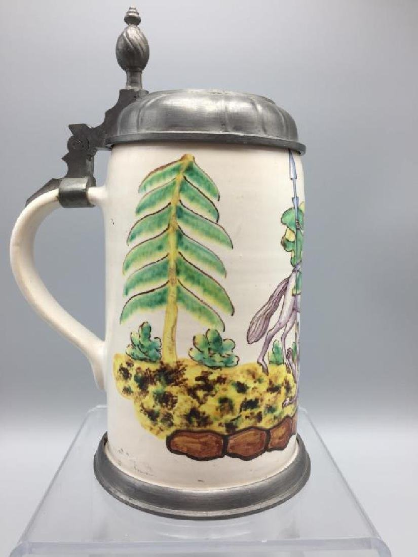 French Faience Stein - 2