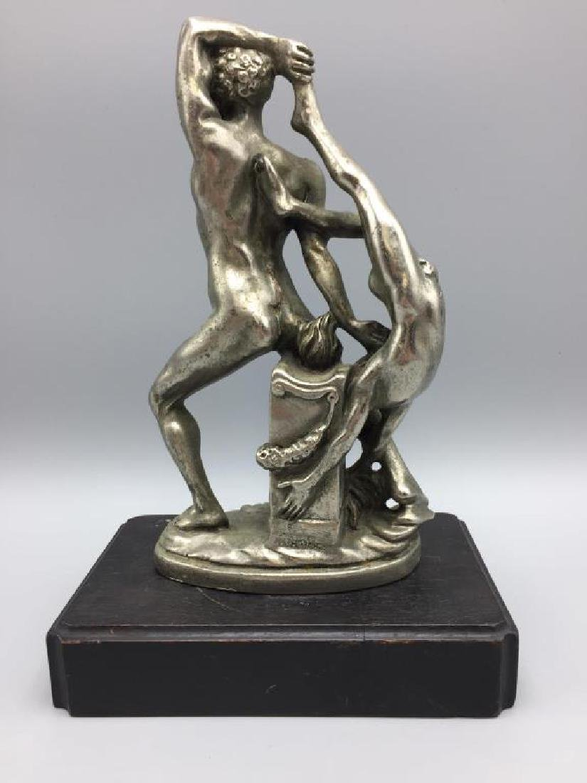 Sculpture of nude man and woman - 2