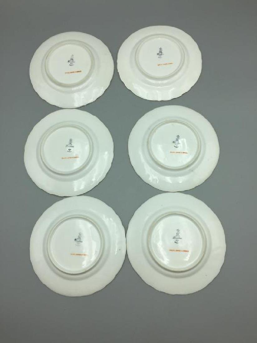 12 Dresden ice cream serving plates and dishes - 13