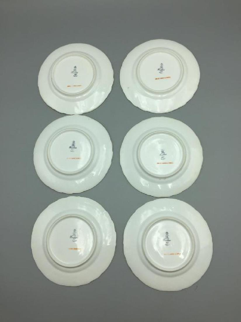 12 Dresden ice cream serving plates and dishes - 16