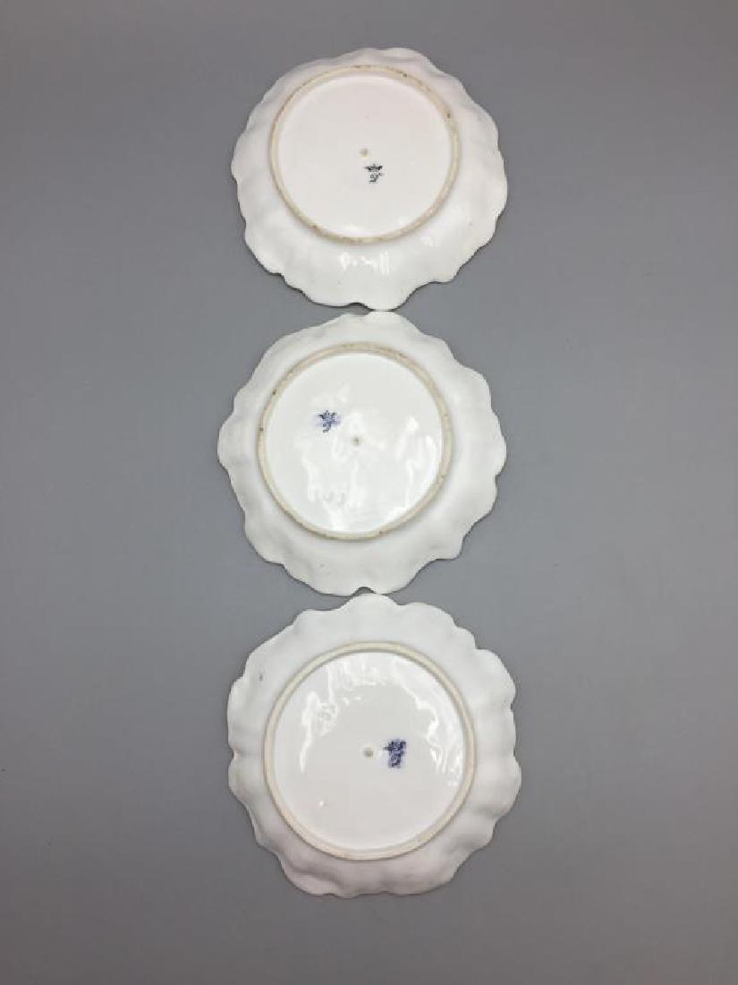 Meissen Dresden lot of 10 bowls floral pattern - 3