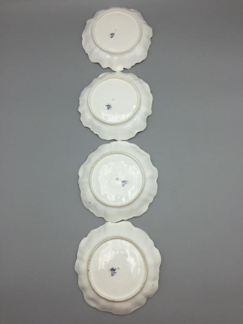 Meissen Dresden lot of 10 bowls floral pattern - 8