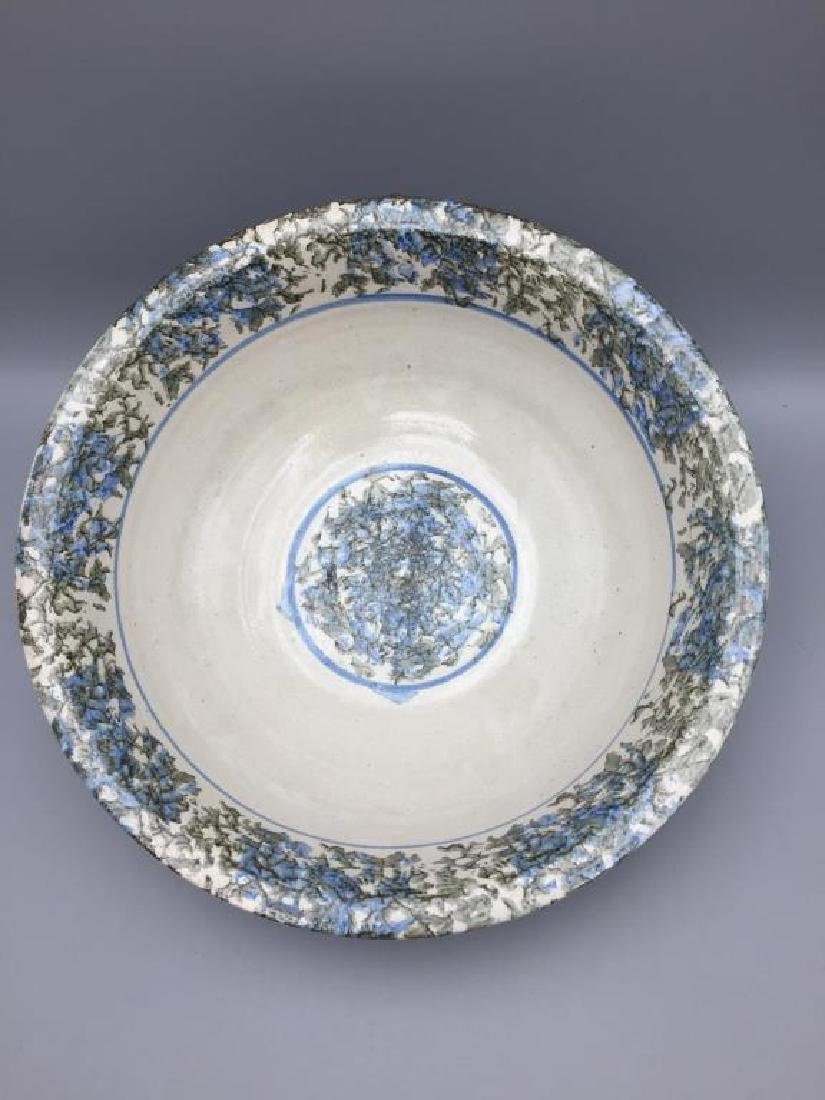Sponge ware bowl and picture - 2