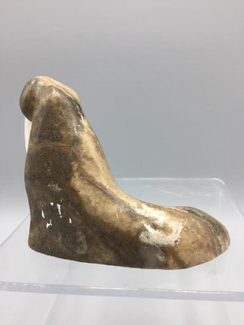 Inuit eskimo carving of a walrus - 2