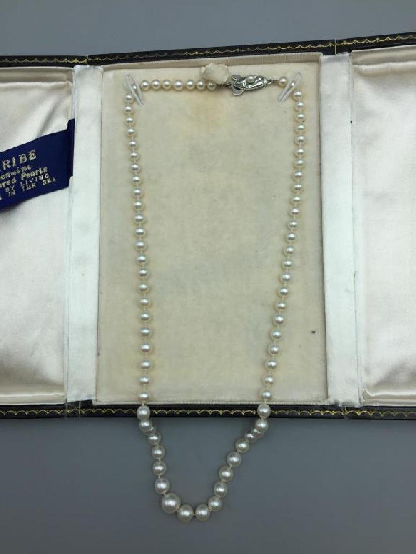 Cultured pearl necklace - 2