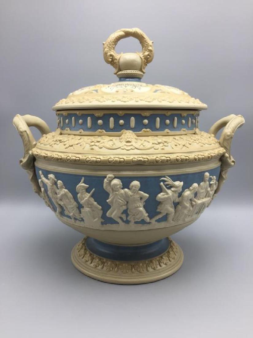Mettlach stoneware punch bowl - 2