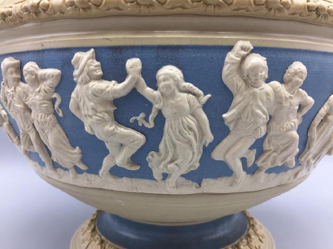 Mettlach stoneware punch bowl - 4