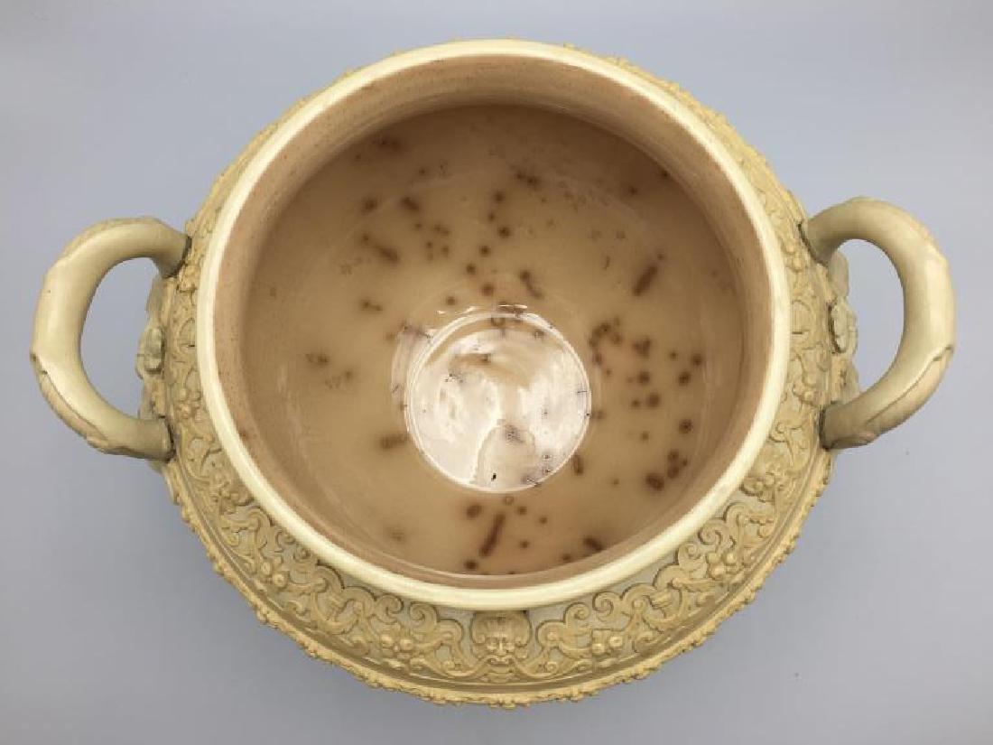 Mettlach stoneware punch bowl - 6