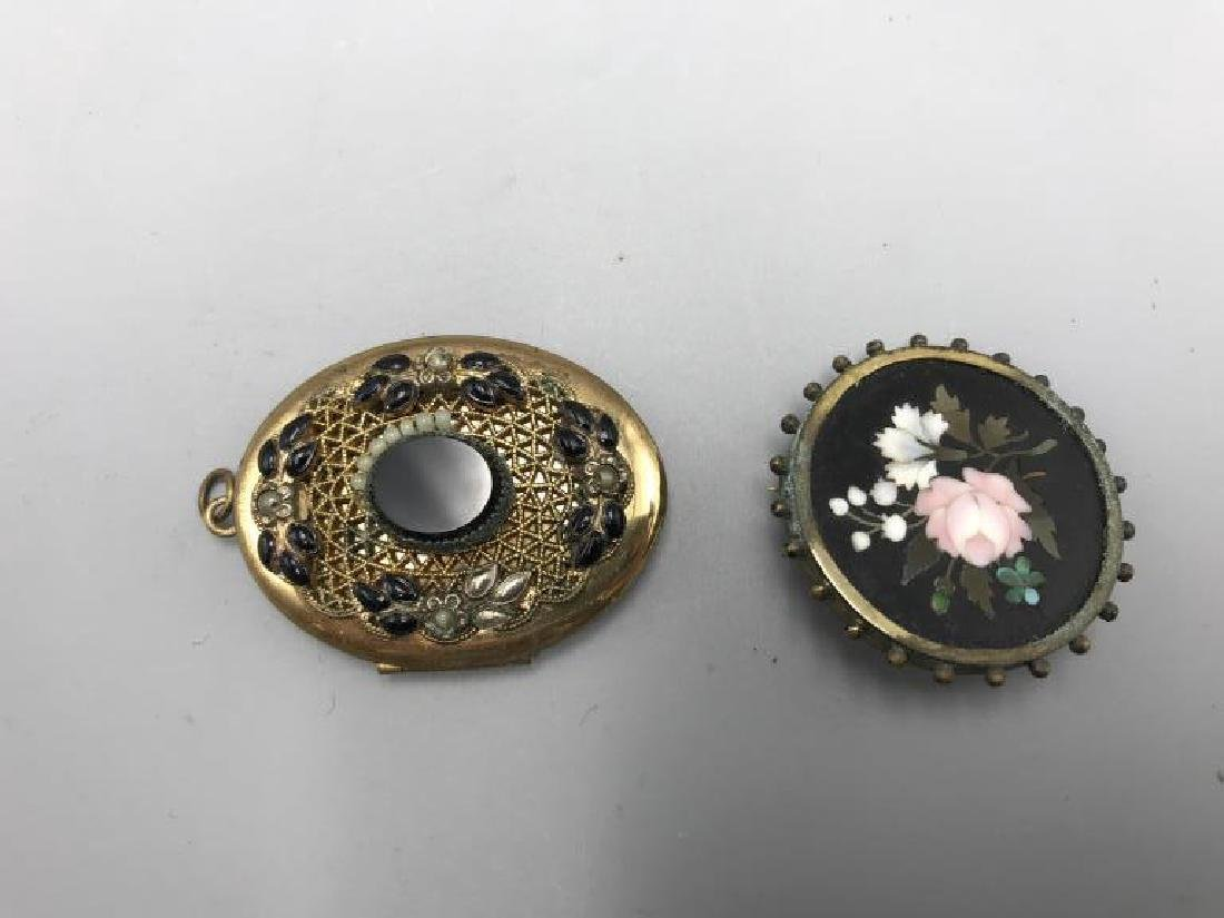 Three pieces of Victorian jewelry - 3