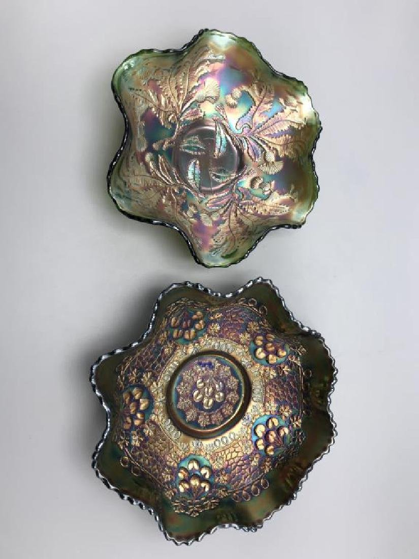 Lot of two carnival bowls