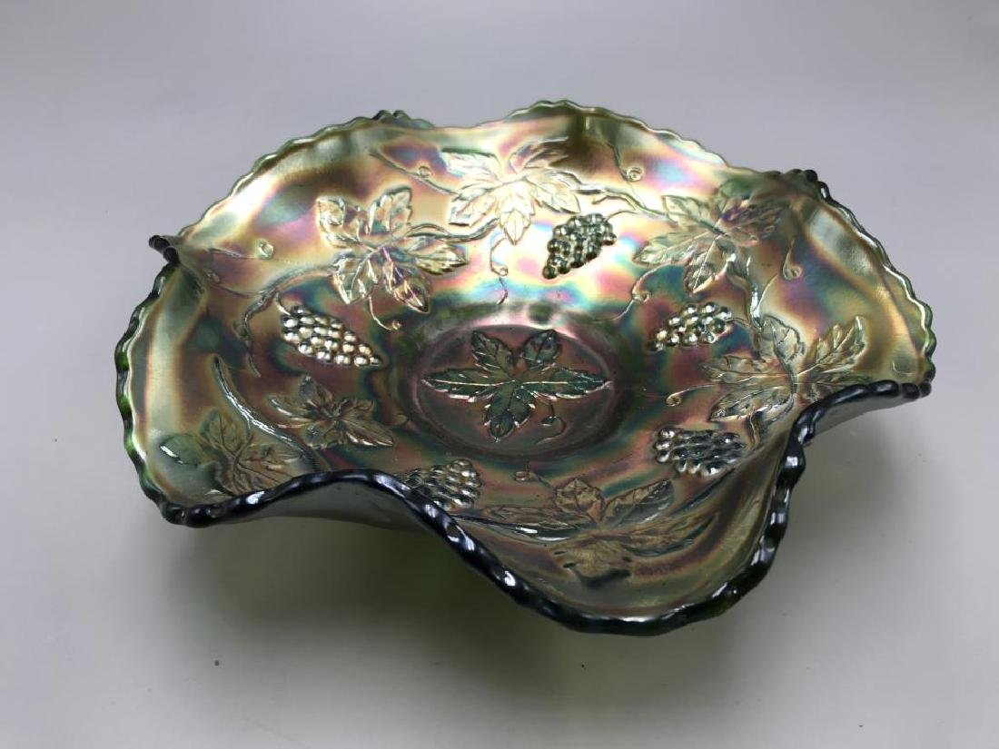 Lot of two carnival glass bowls - 4