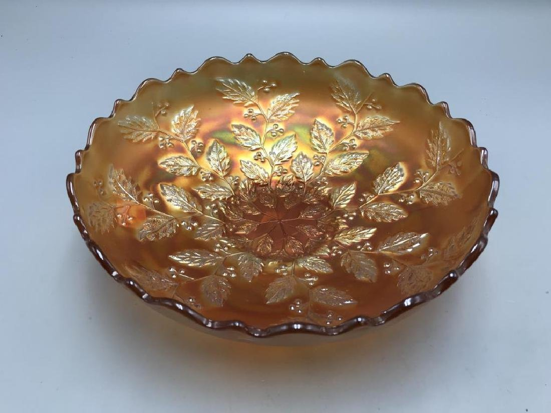 Lot of two carnival glass bowl - 2
