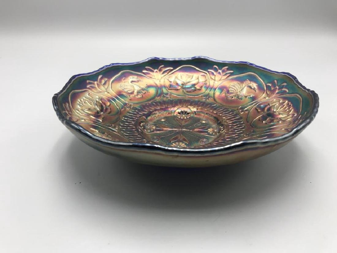Carnival glass bowl - 2