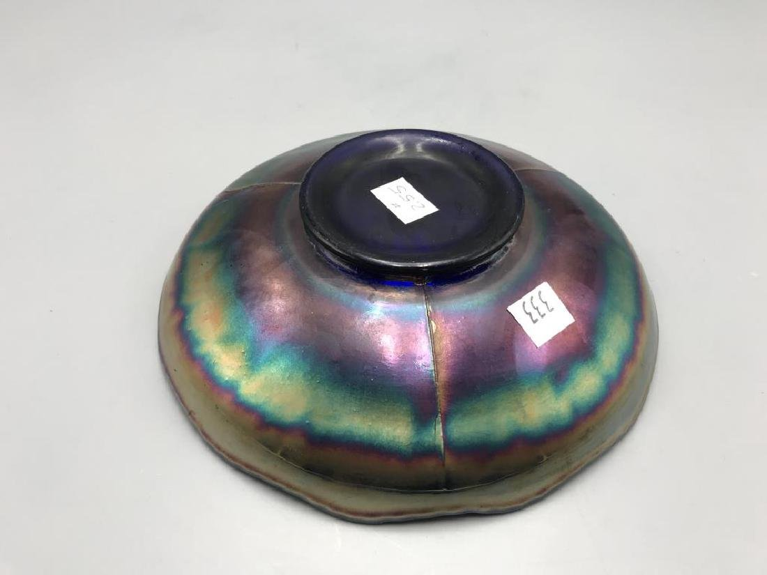 Carnival glass bowl - 3