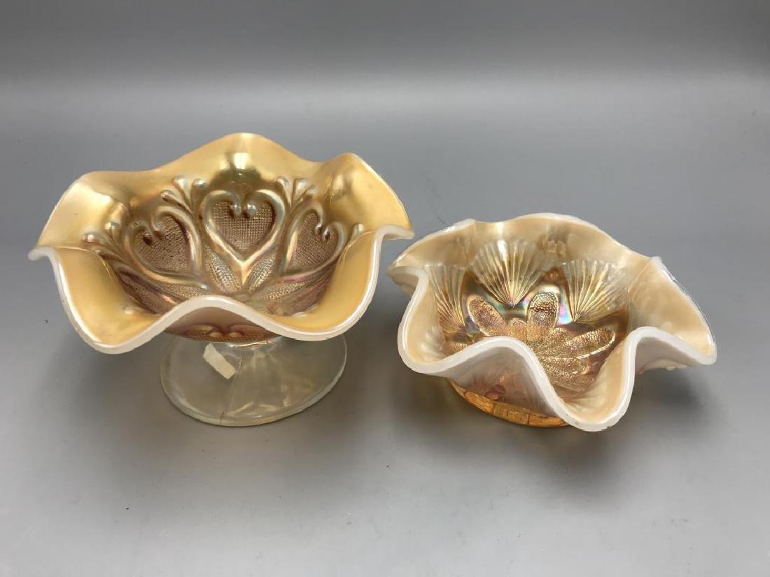 Lot of 3 Carnival bowls - 5
