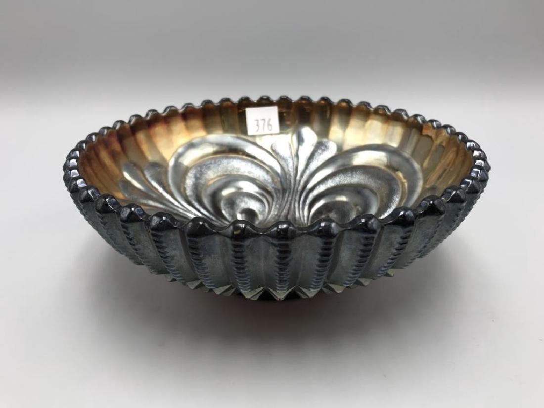 Lot of three carnival glass bowls - 2