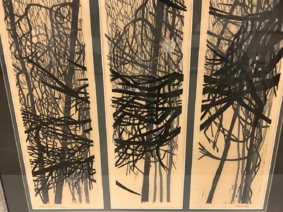 Ninon Lacy woodblock - 2