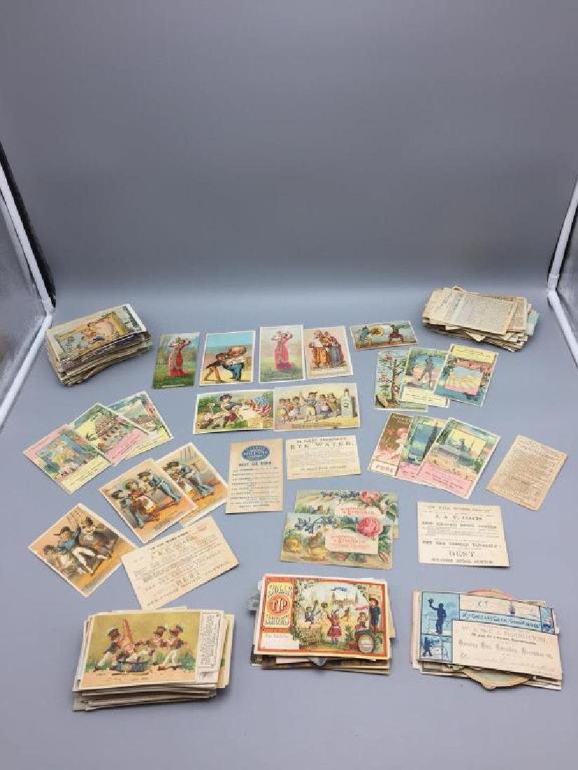 Victorian trade cards advertising
