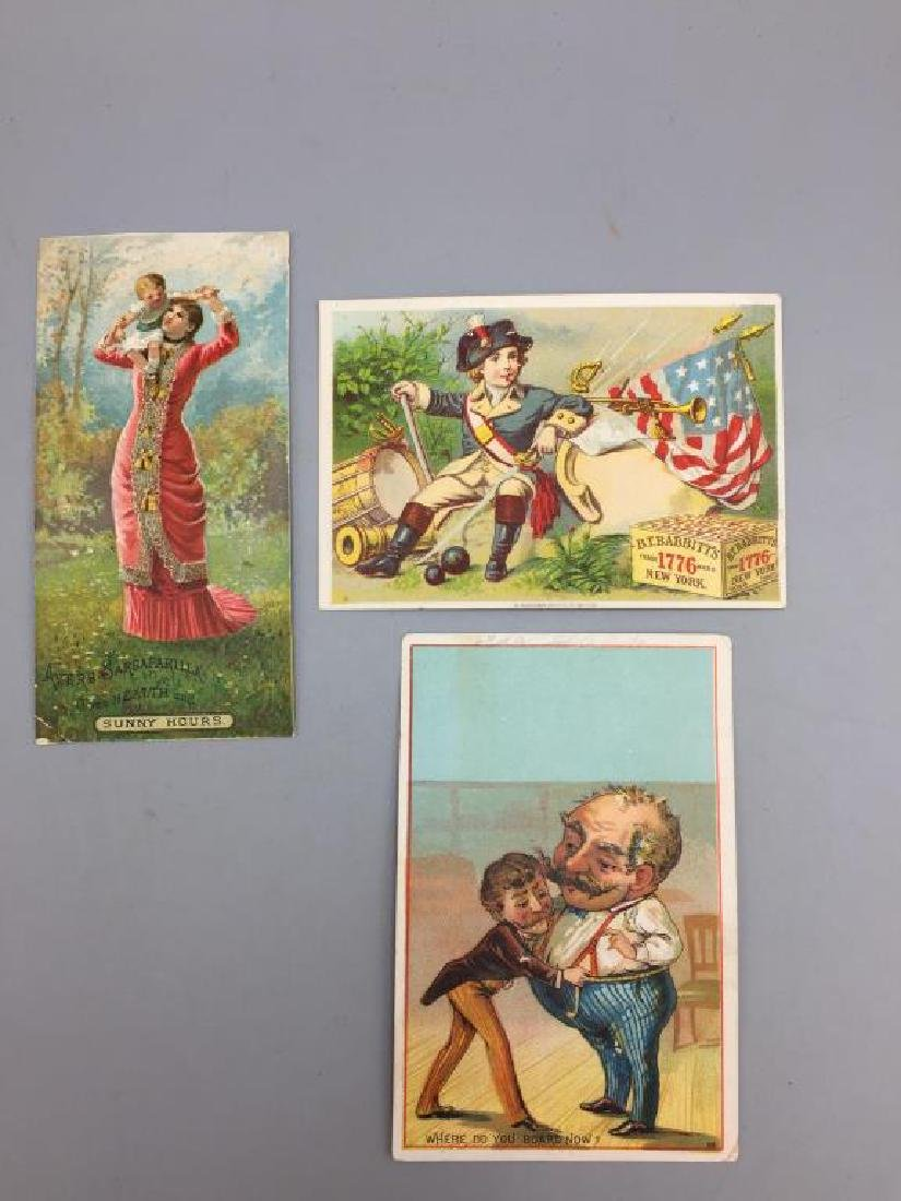 Victorian trade cards advertising - 2