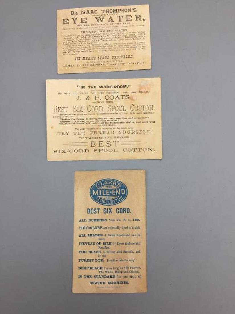 Victorian trade cards advertising - 4