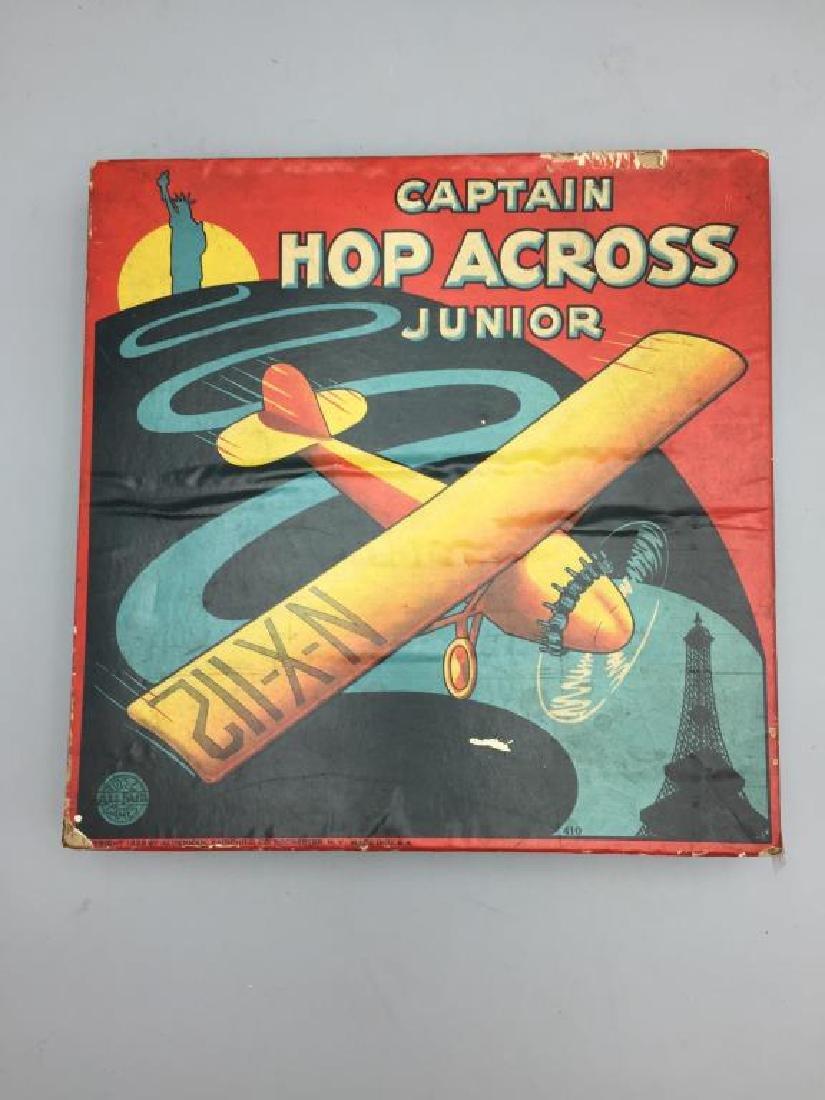 Captain hop across Junior Charles Lindbergh game