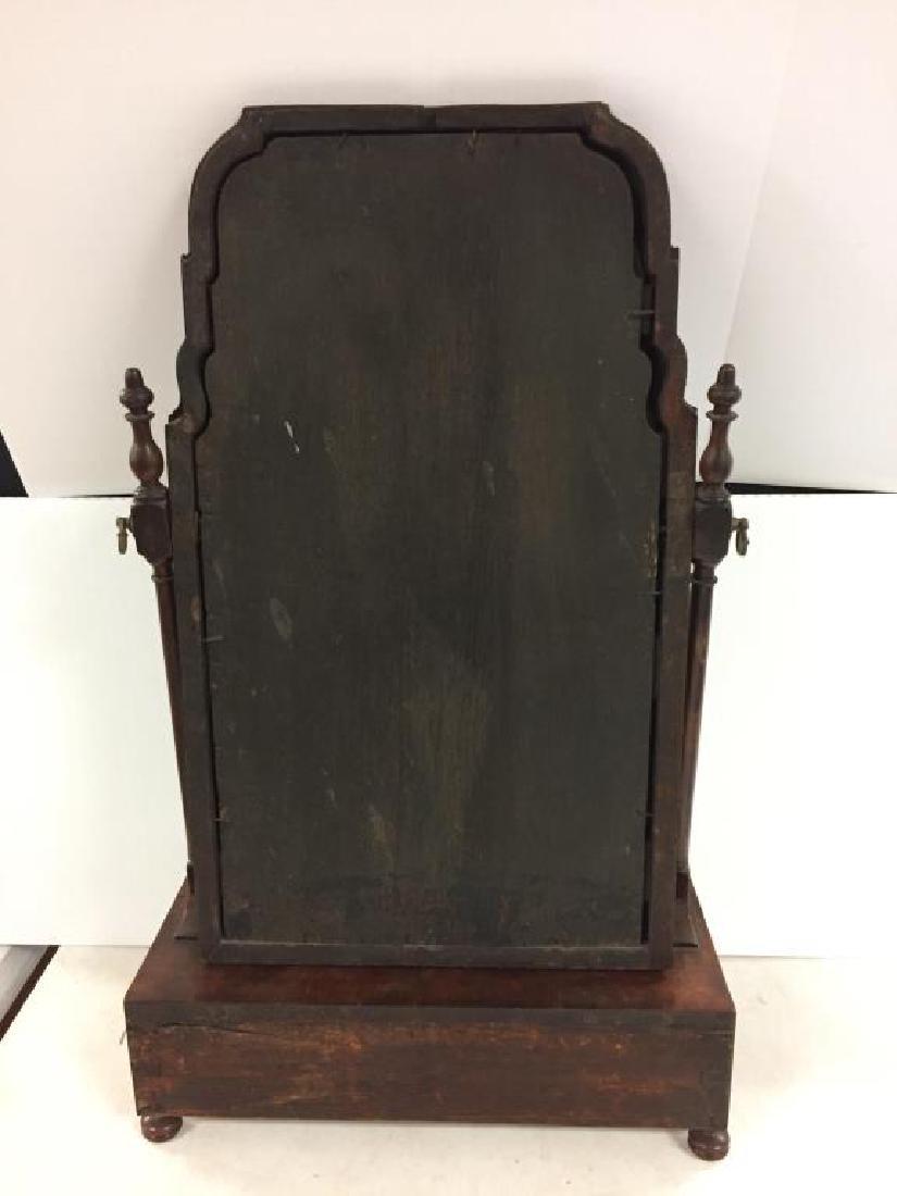 18th century English shaving mirror - 3