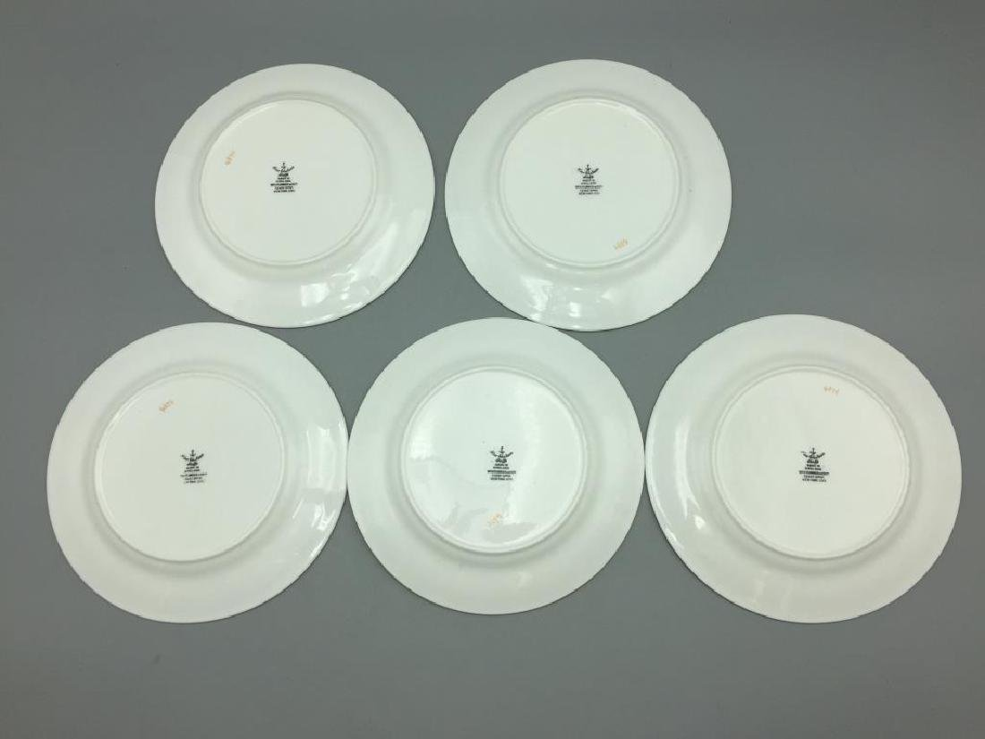 Pink Luster plates dishes & Wedgwood miniature - 3