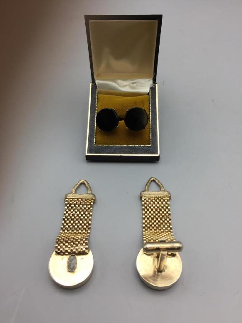 Men's cufflinks lot - 4