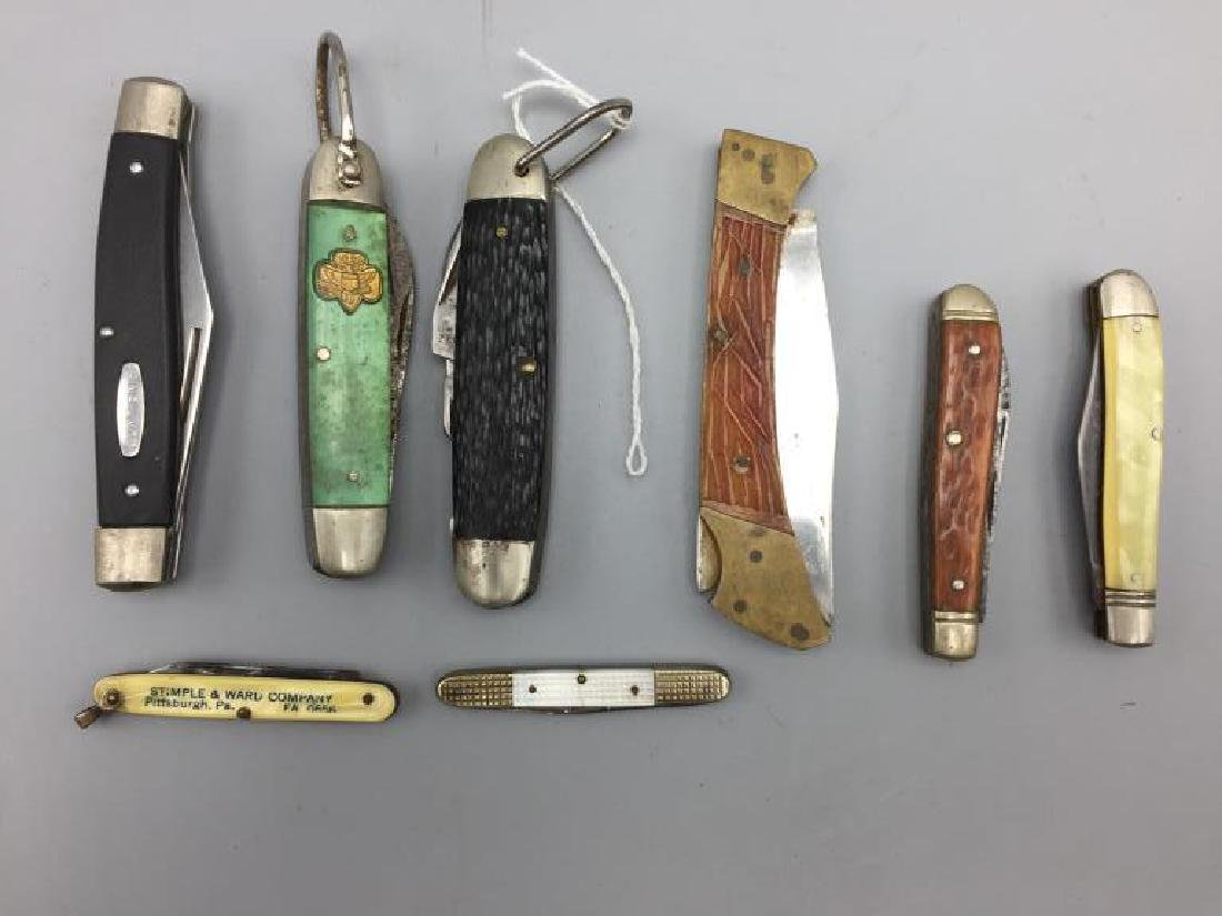 Pocket knives and lighters lot - 2