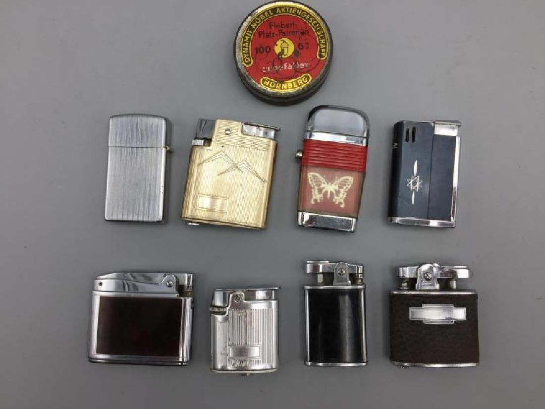 Pocket knives and lighters lot - 4