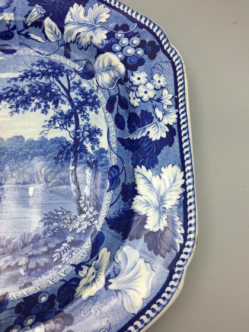 Staffordshire platter - 2