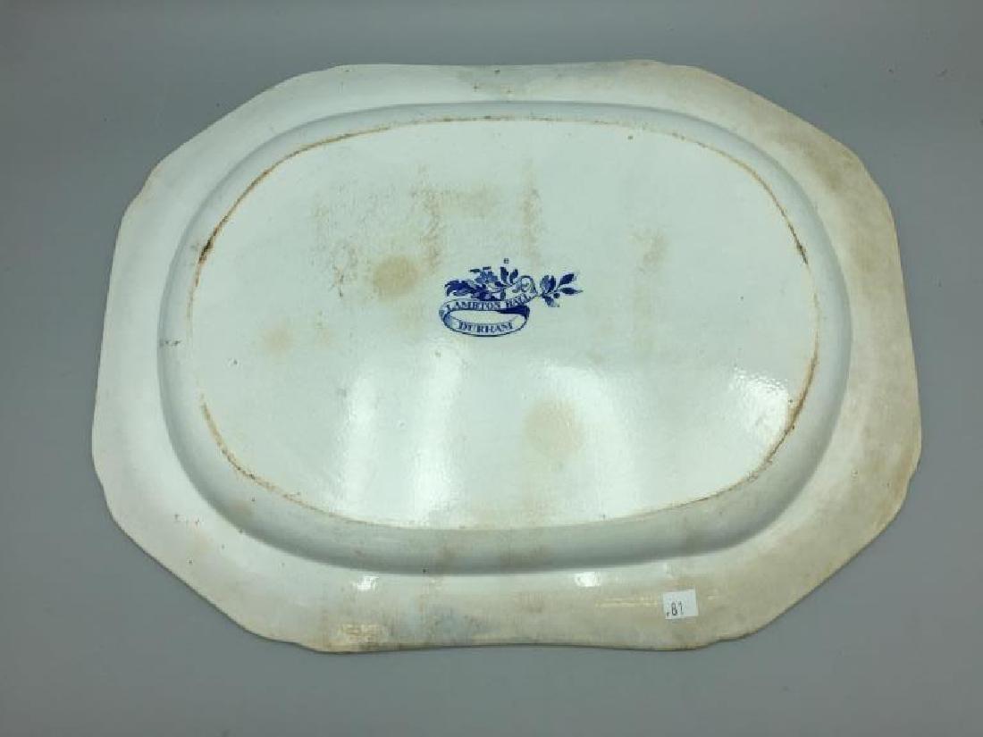 Staffordshire platter - 3