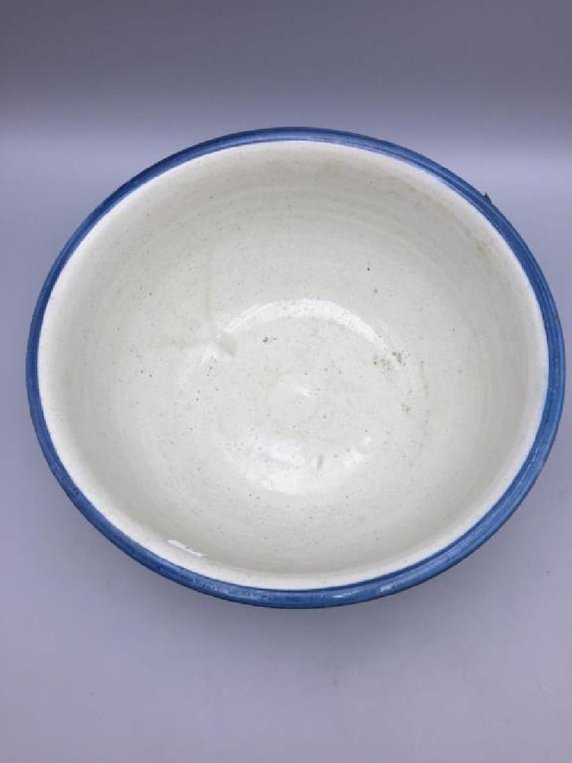 Lot of 3 stoneware mixing bowls - 3