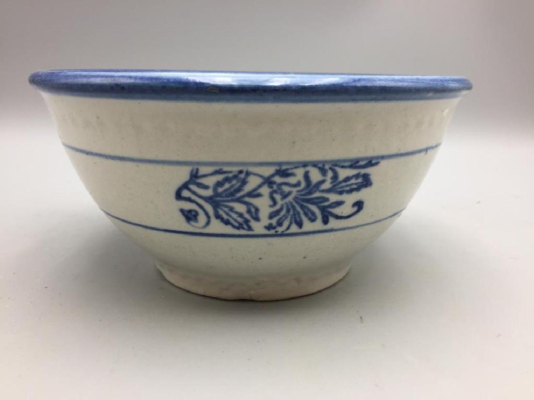 Lot of 3 stoneware mixing bowls - 4