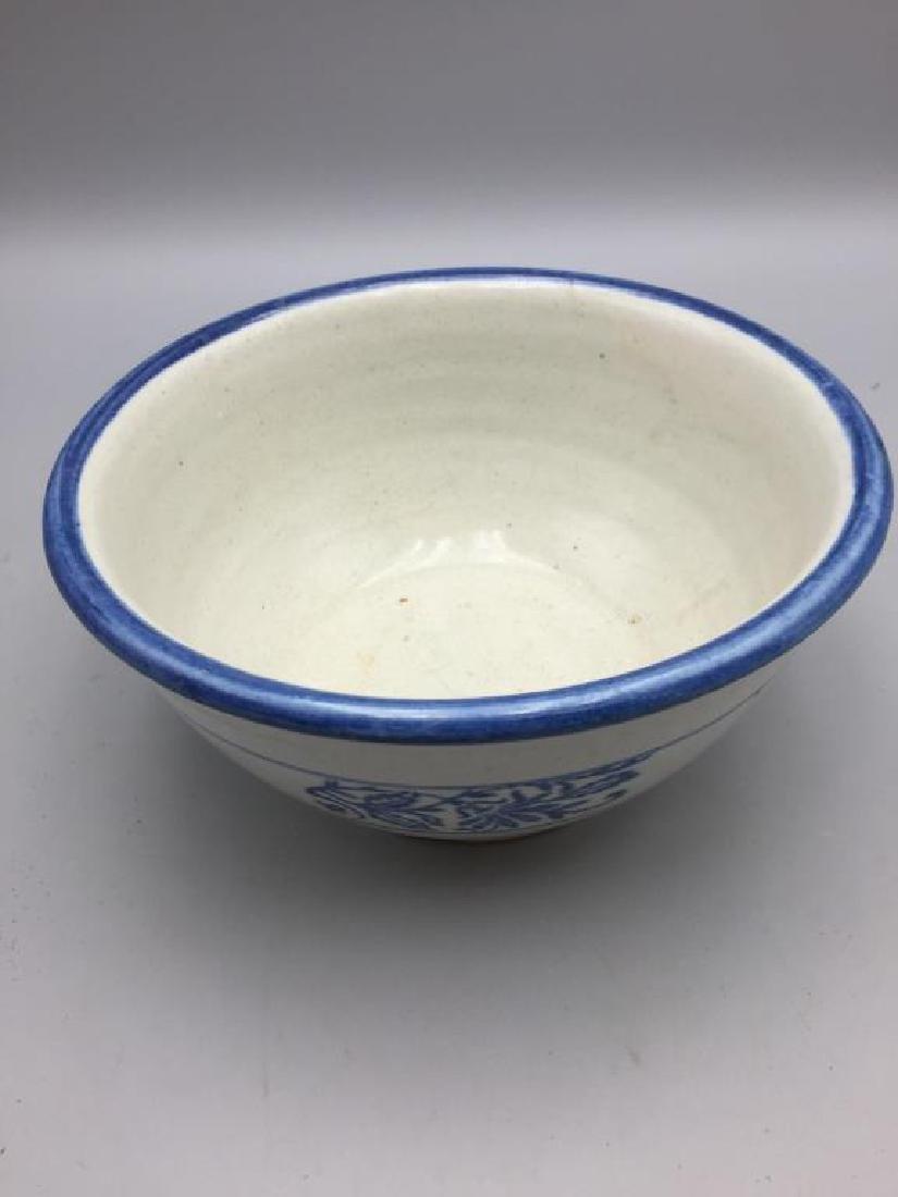 Lot of 3 stoneware mixing bowls - 5