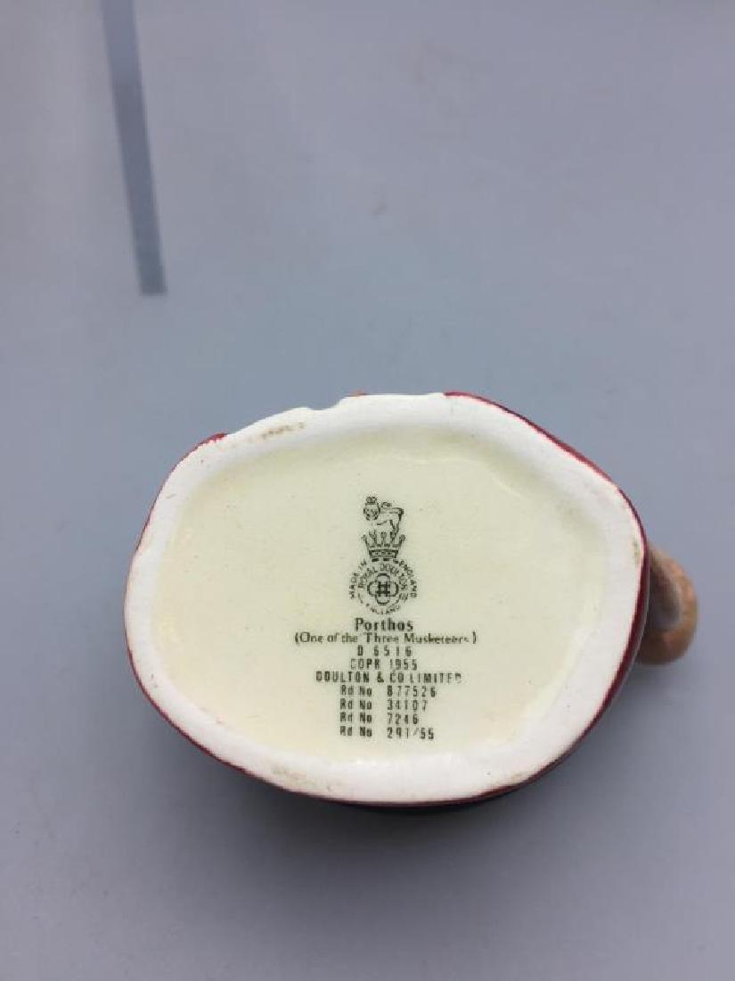 Lot of 6 Royal Doulton Toby mugs - 7