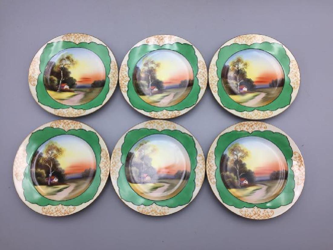 Grouping hand painted Noritake China - 2
