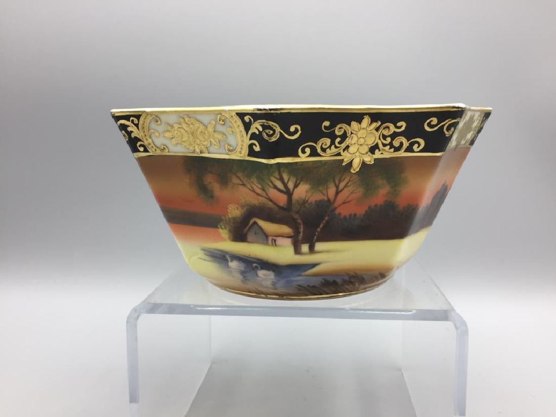 Grouping hand painted Noritake China - 5
