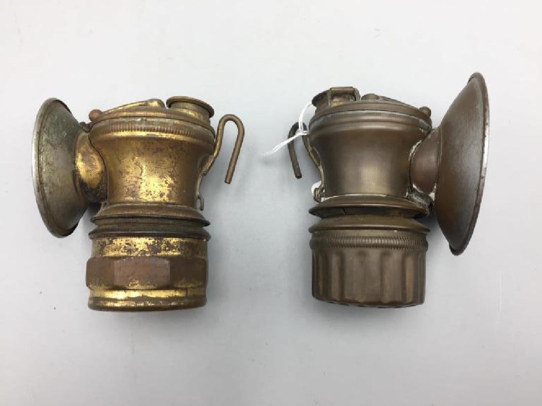 2 antique automobile lanterns - 3