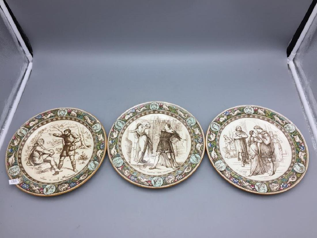 Lot of eight Ivanhoe Wedgewood plates - 2