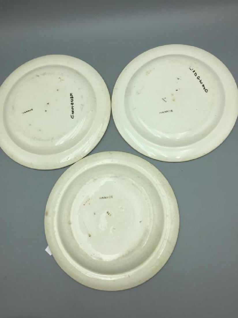 Lot of eight Ivanhoe Wedgewood plates - 3