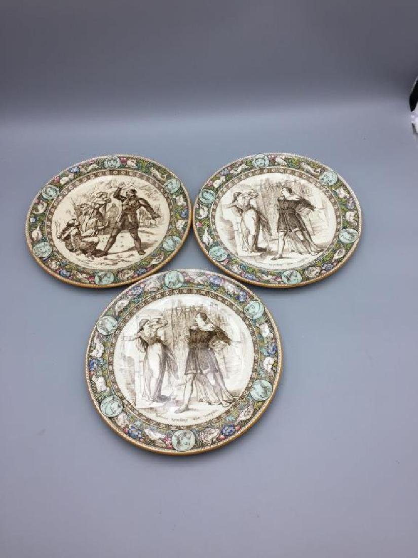 Lot of eight Ivanhoe Wedgewood plates - 4