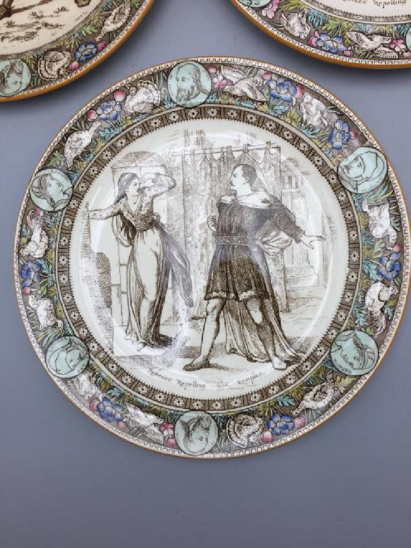 Lot of eight Ivanhoe Wedgewood plates - 5