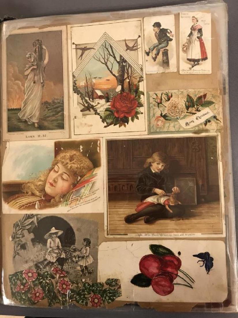 Rare Victorian scrap book - 10