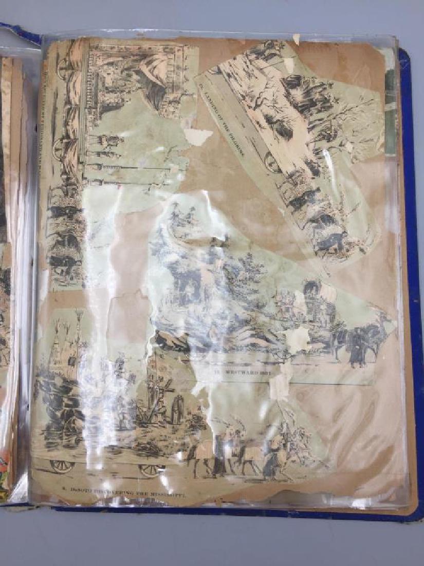 Rare Victorian scrap book - 4