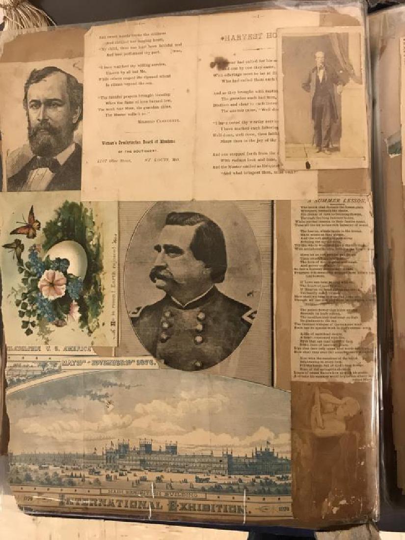 Rare Victorian scrap book - 7