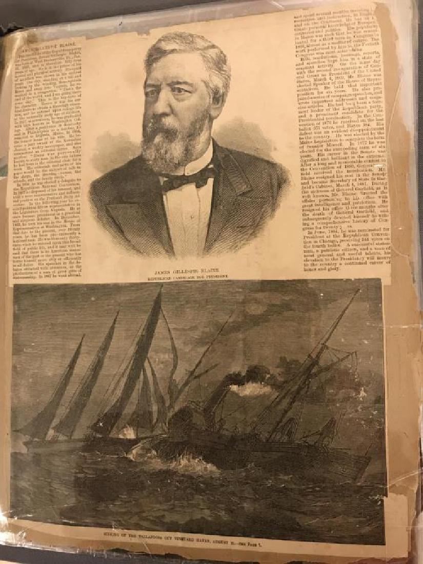 Rare Victorian scrap book - 8
