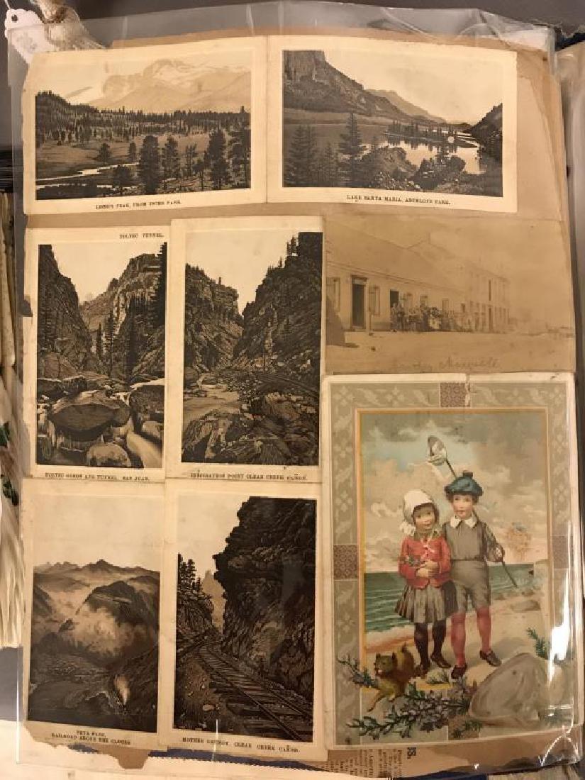 Rare Victorian scrap book - 9