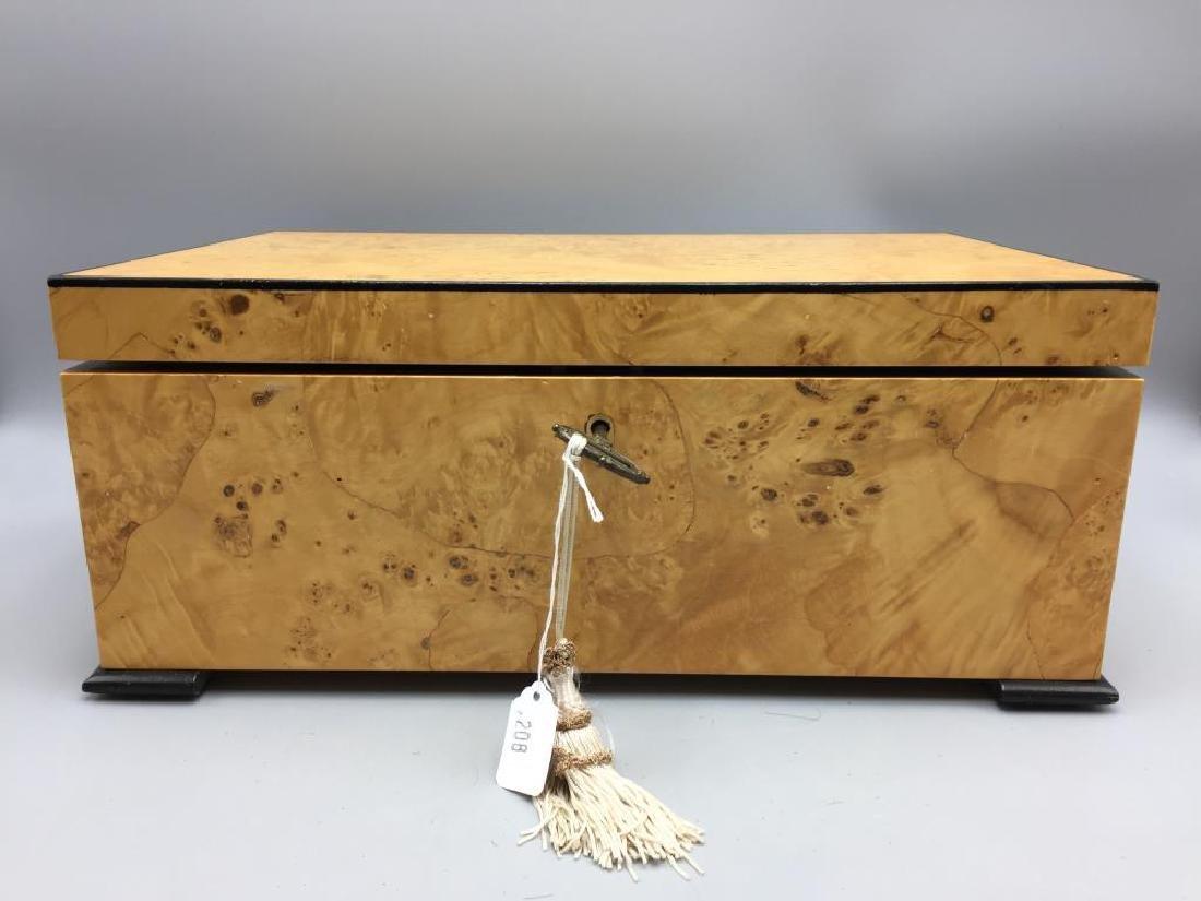 Beautiful burled maple dresser box